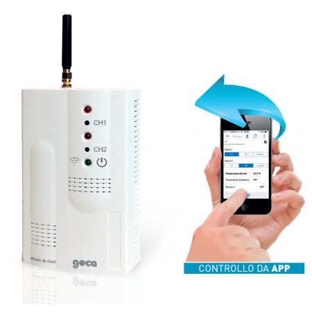 GS-M03 COMANDO REMOTO GSM e controllo rete elettrica. Con alimentatore