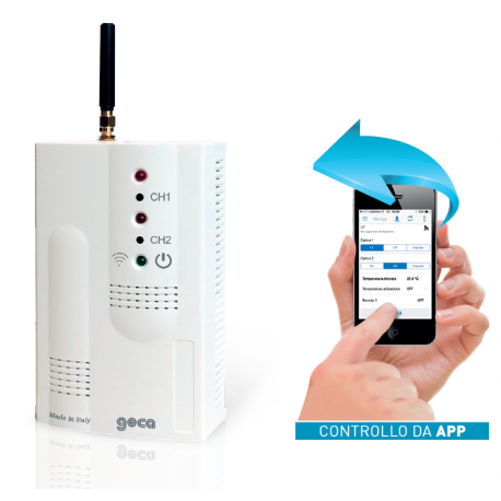 GSM03 ATTIVATORE REMOTO GSM