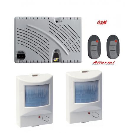 GT 13.9/IR KIT allarme con sensore SUBSONICO e 2 Sensori Infrarosso