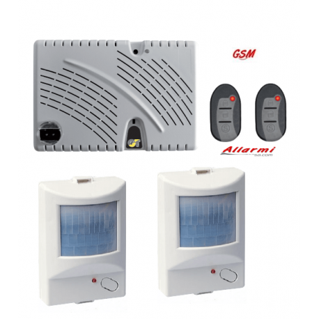 GT 13.9/CM KIT allarme con sensore SUBSONICO e 2 Sensori Infrarosso