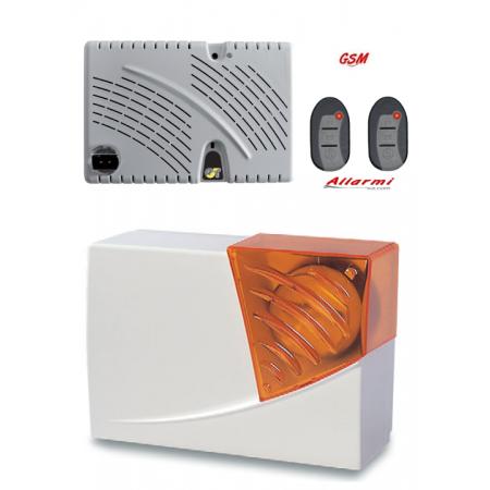 KIT GT 13.9/SC - KIT allarme con sensore SUBSONICO + Sirena esterna