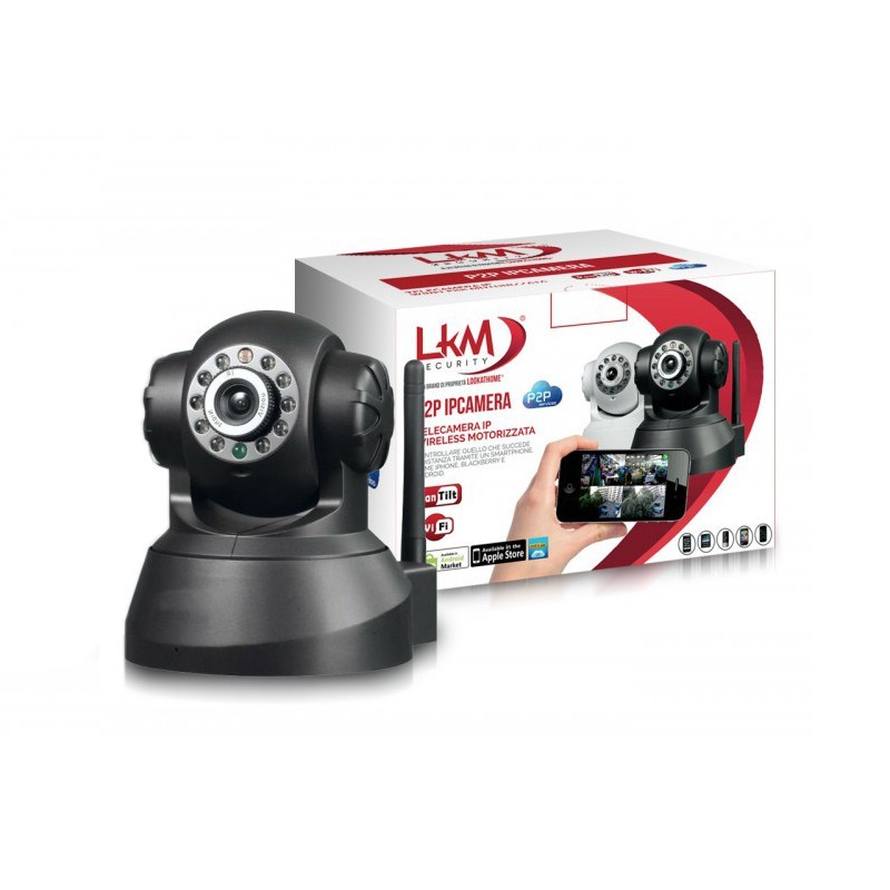 Telecamera LKM Security Wifi IP Wireless - Allarmicasa.com